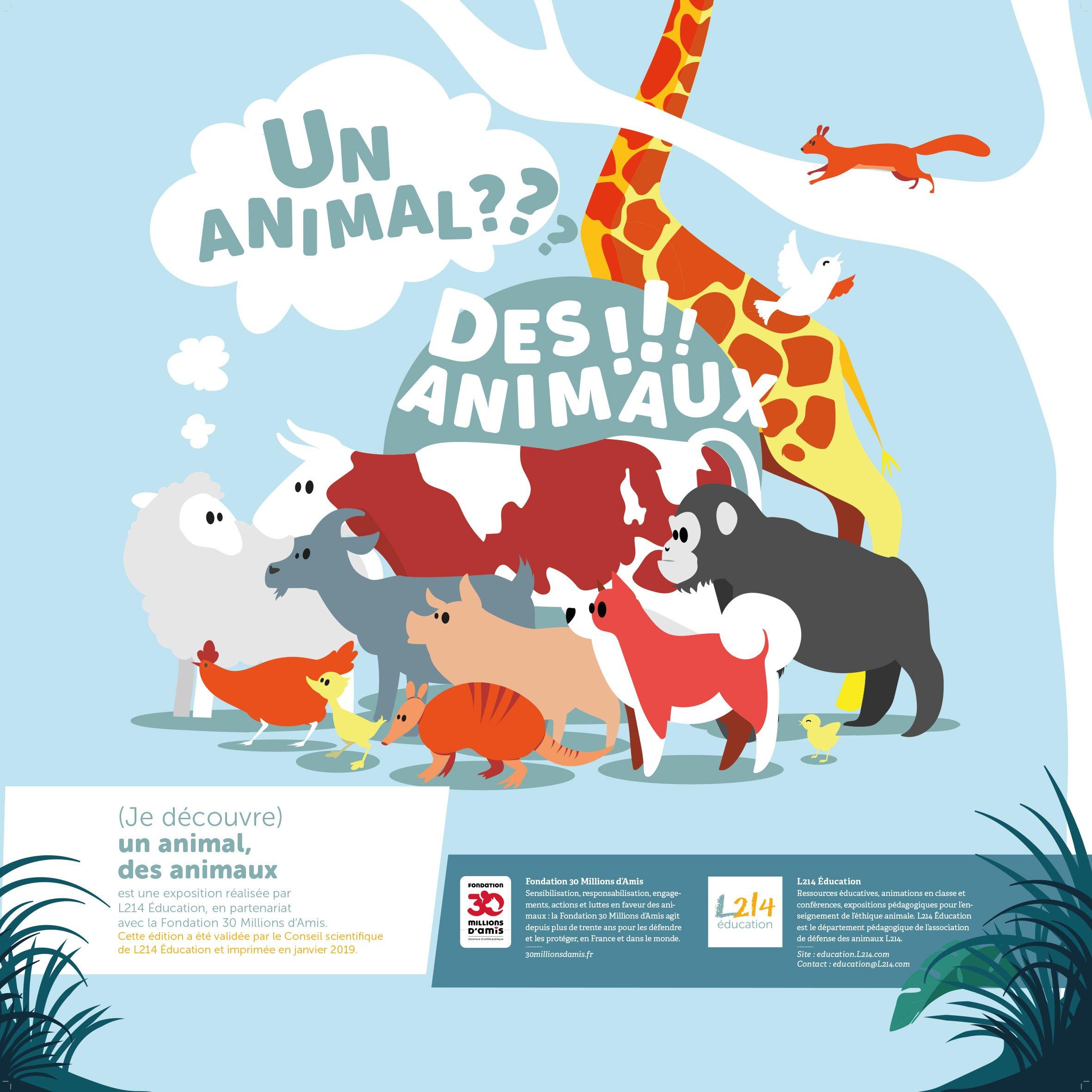 Exposition Un animal, des animaux / Panneau 1