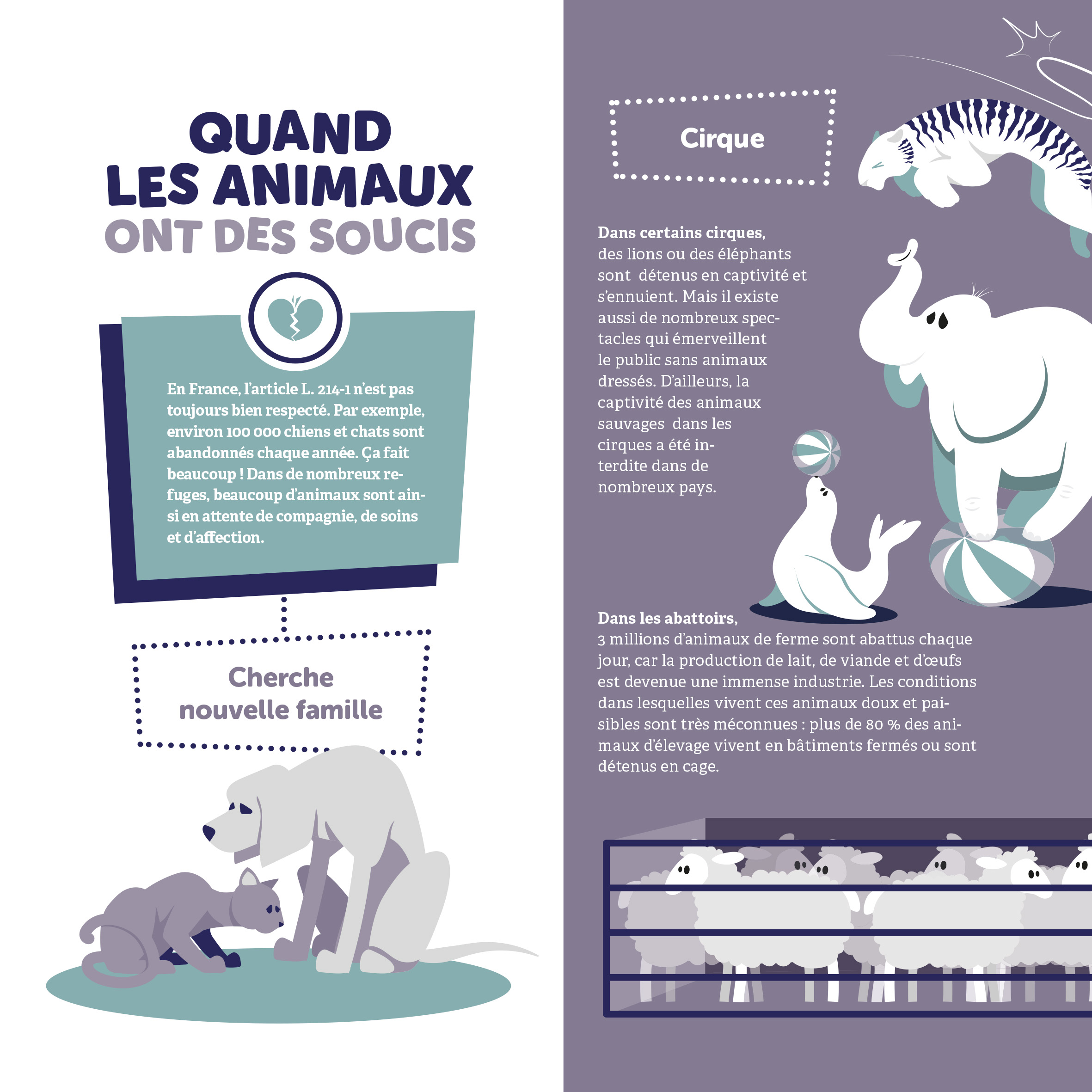Exposition Un animal, des animaux / Panneau 9