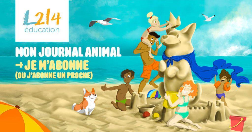 Mon journal animal abonnement