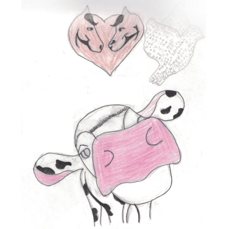 Albane: 'Essayez de libérer le petit veau qui est enfermé'