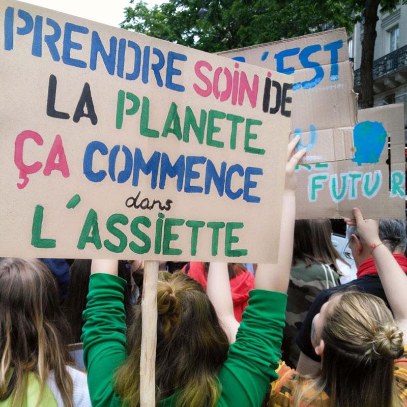 En France aussi, les jeunes se bougent pour le climat!
