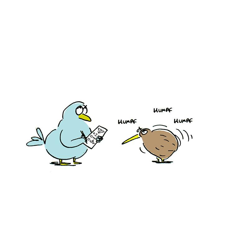 Pourquoi certains oiseaux ne volent-ils pas?