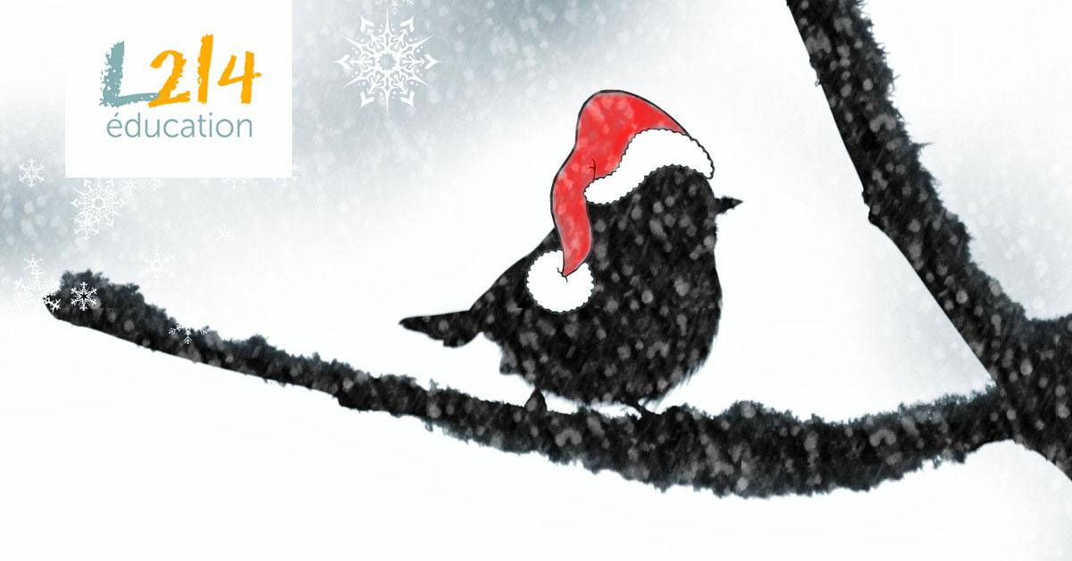 Des livres sur les animaux sous le sapin de Noël!