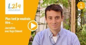 Mon métier pour les animaux : journaliste avec Hugo Clément