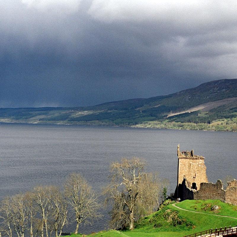Le lac du Loch Ness, en Écosse