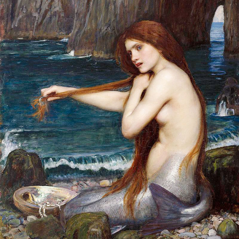 Sirène, par John William Waterhouse