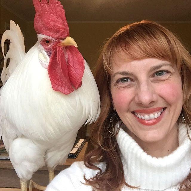 Camille et Bree le poulet