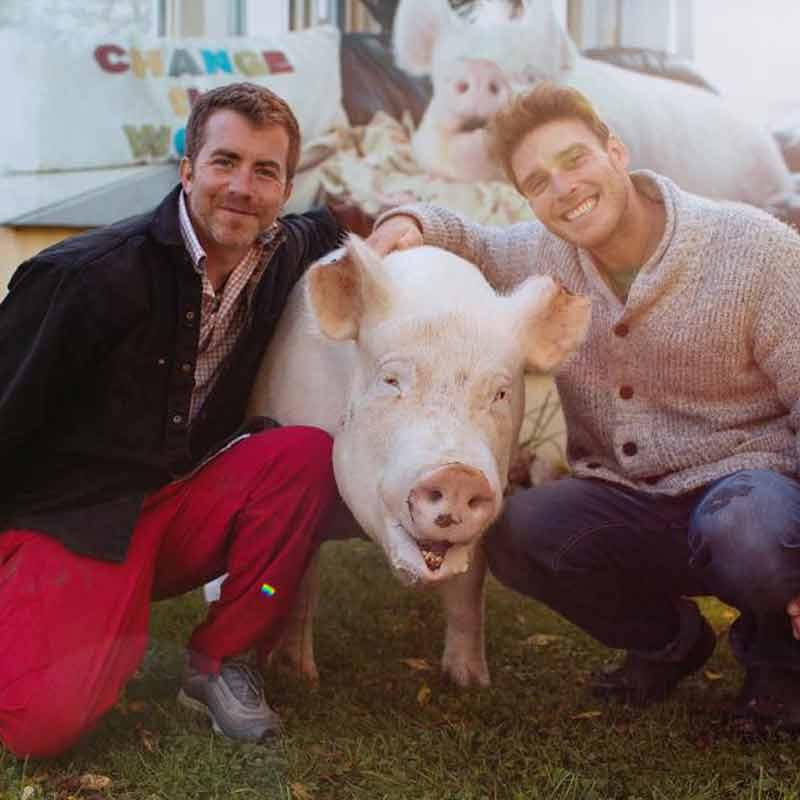 Esther avec Derek et Steve