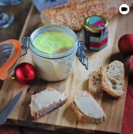 """Terrine végétale façon """"foie gras"""""""
