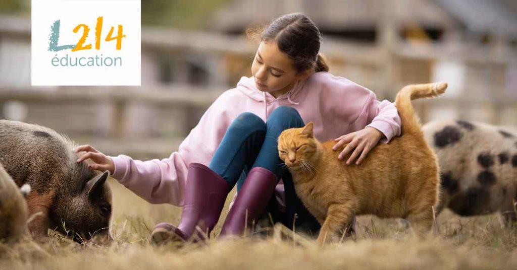 Mélina au refuge Groin-Groin pour animaux pour Mon journal animal