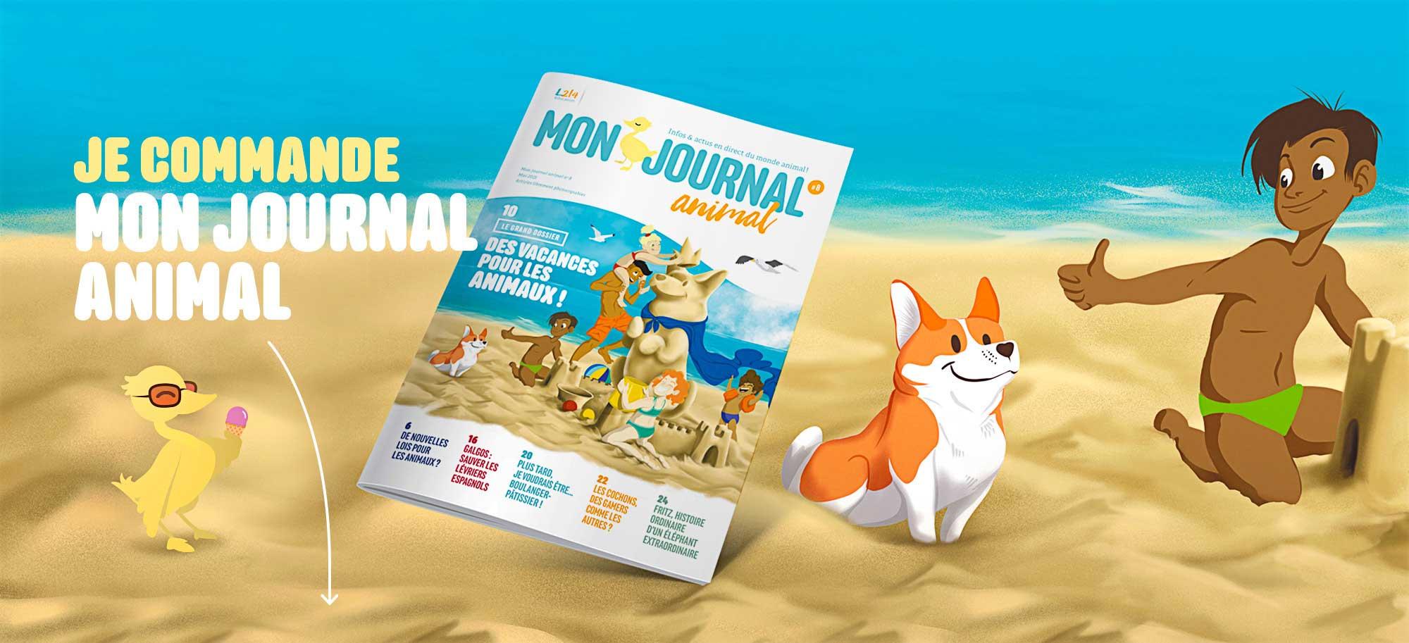 Mon journal animal abonnement magazine animaux jeunesse enfants numéro 8