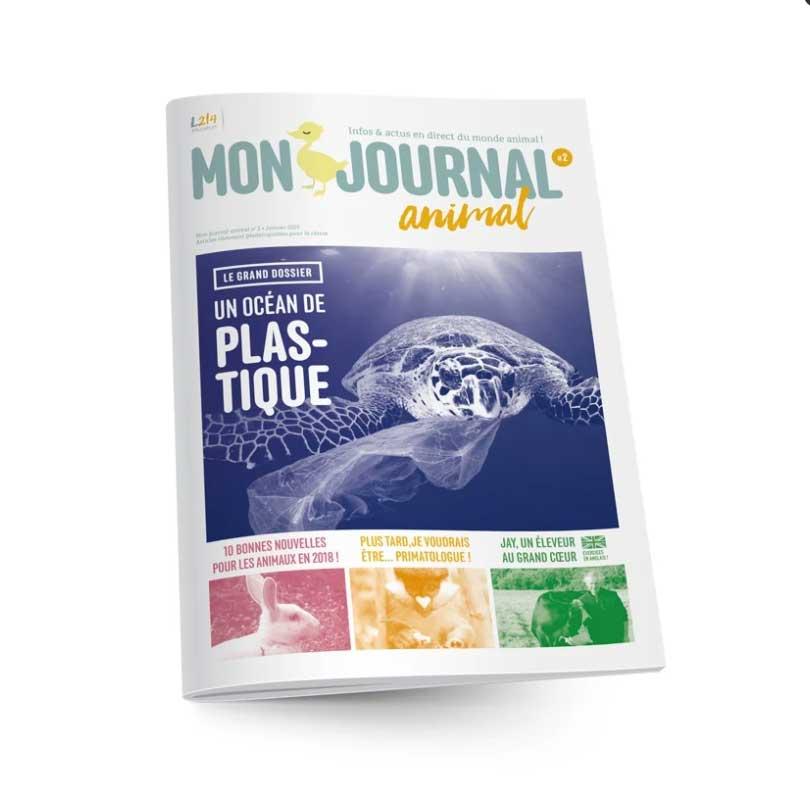 Mon journal animal 2 - Un océan de plastique