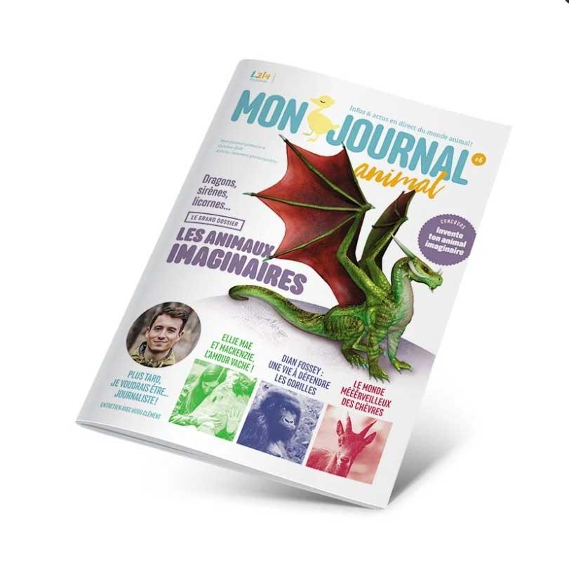 Mon journal animal 6 - Les animaux imaginaires