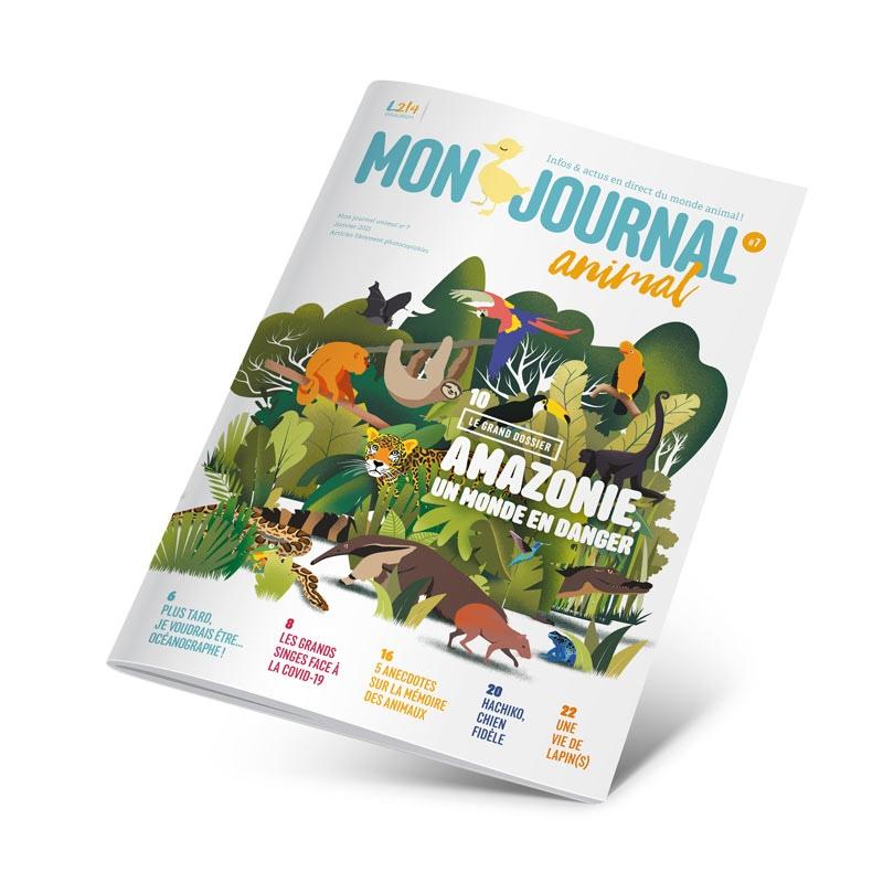 Mon journal animal 7 - Amazonie en danger